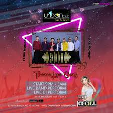 theme urban event theme love song urban club medan mon 8 jul