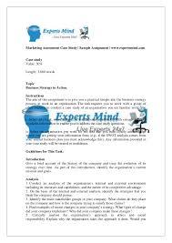 business strategy marketing case study assignment help marketing assessment case study sample assignment expertsmind