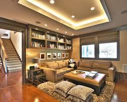 family room lighting design. nesting end tablets overhead shelving roman blinds den contemporary family room los angeles urban colony lighting design