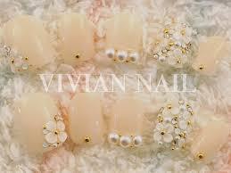 ブライダルネイルまとめウェディングドレスに合う白のネイル