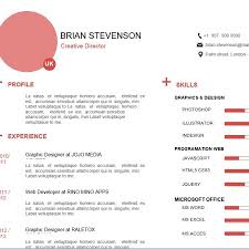 Friendly Resume Pink