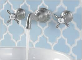 wall mounted faucets bathroom. Interesting Moen Kingsley For Your Contemporary Bathroom Design Ideas: Wall Stainless Steel Decor Mounted Faucets