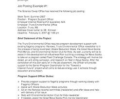 Internal Job Cover Letters Example Tomyumtumweb Com