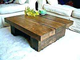 plank coffee table rustic plank coffee table outstanding wood plank coffee table solid dark oak pine