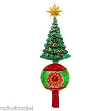Finial Tree Toppers  FoterChristmas Tree Finials