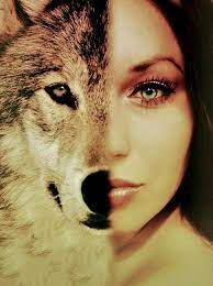 Pin by Evangelina Braun on fantasy art | Wolves and women, Wolf spirit  animal, Wolf girl