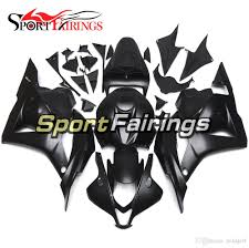 complete motorcycle injection fairing kit matte black covers new