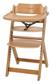 baby dining chair. baby feeding wooden highchair 6m+ adjustable toddler kids high chair dining seat u