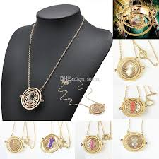 whole newest hourglass pendant necklace hermione granger time converter spins alloy necklace party hourglass necklace wx n32 diamond pendant