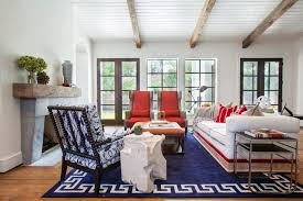 affordable living room decorating ideas. blue and orange chairs affordable living room decorating ideas