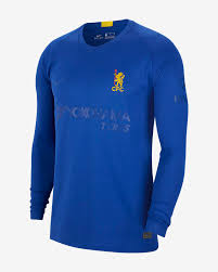 Design Your Own Nike Shirt Chelsea Fc Stadium Cup Mens Long Sleeve Football Shirt