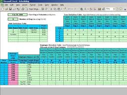 5 Person Rotating Schedule Download Rotating Shift Schedules For Your People 5 24