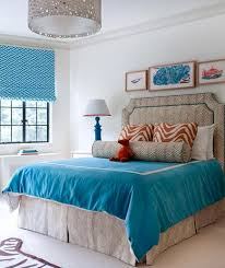bedroom ideas blue. Modren Blue Match A Fun Patterned Headboard With Similar Decorative Pillow  For The Perfect Unified Look On Your Bed Inside Bedroom Ideas Blue I