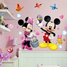 mickey minnie mouse wall sticker birds