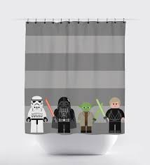 items similar to star wars shower curtain starwars shower curtain jedi shower curtain shower curtain boy shower curtain home decor superhero on