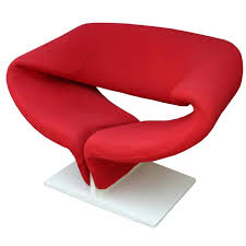 pierre paulin ribbon chair for
