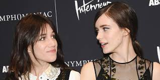 Nymphomaniac Stars Charlotte Gainsbourg Stacy Martin On The.