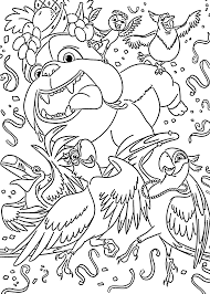 Friends Coloring Pages For Kids Printable