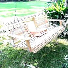 porch swing glider build frame a for plans set new best home ideas yard lawn