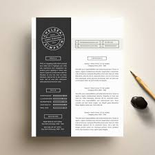Creative Resume Creative Resume Template and Cover Letter Template for Word 22