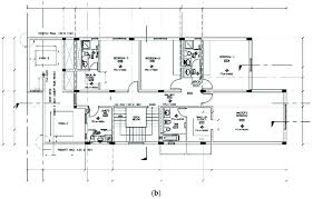 a ground floor plan of kfupm faculty housing b first floor plan