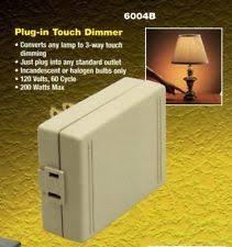 touch lamp dimmer ebay Westek Touch Dimmer Wiring Diagram westek plug in touch lamp dimmer converts any lamp to 3 way dimming 6004b Three-Way Dimmer Switch Wiring Diagram