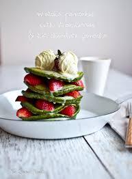 Matcha Green Tea Pancakes Valentines Day Not Quite Nigella