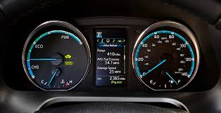 2018 toyota rav4. contemporary 2018 hybrid gauge cluster on 2018 toyota rav4