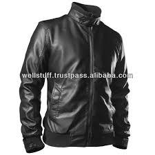 men s best design fashion leather jacket