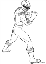 power rangers coloring pages on coloring
