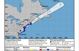 N.J. weather: Tropical Storm Elsa to ...
