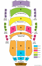 Belk Theater Seating Chart Belk Theater Charlotte North