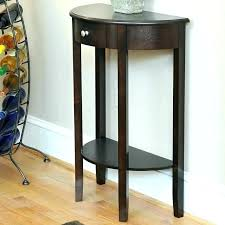 half moon table with drawer half moon entry table half moon console table half moon console