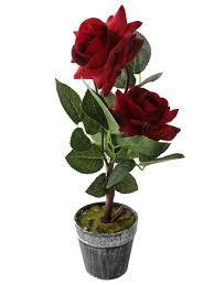 <b>Цветок искусственный декоративный</b> в горшке в виде роз La ...