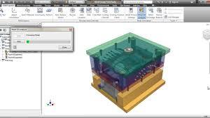 Autodesk Inventor Mold Design Tutorial Plastic Mold Workflow Autodesk Inventor 2012