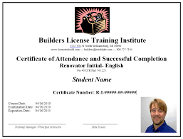 Certificate Of Completion Training Stunning Certified Training Institute Sample BLTI Certificate Of Completion