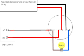 light wiring diagrams light fitting domestic light wiring