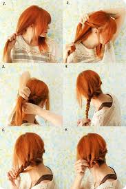 braided updo hairstyle for date tutorial with colored hair extensions