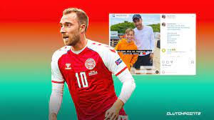 Christian Eriksen spotted in Denmark ...