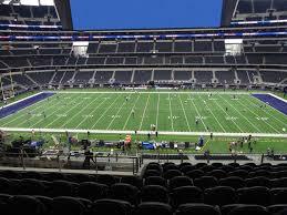 At T Stadium View From Club Mezzanine 335 Vivid Seats