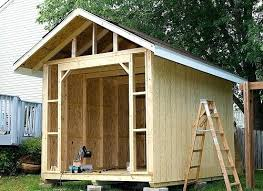 wood garden shed plans outdoor