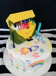 Cute Crayon Cake Art For A Back To School Party And Eat It Too