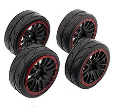 Yosoo 4PCS RC Racing Rubber Tires Fit HSP HPI ... - Amazon.com