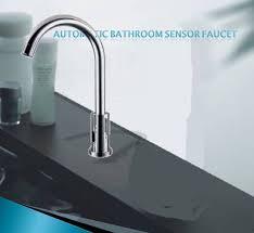 Motion Sensor Kitchen Faucet Kitchen Sensor Faucets Bathroom And Kitchen Sensor Faucets