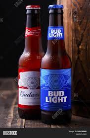 Old Bud Light Label London Uk April 27 Image Photo Free Trial Bigstock