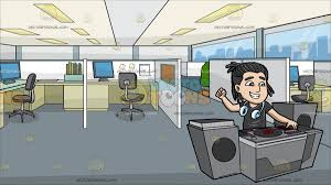 cool office cubicles. A Cool Dj Pumping Up Rave Party At Office Cubicles M
