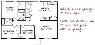 3 Bedroom Open Floor House Plans Ideas Simple Decorating Design