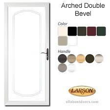 larson elegant selection 149bv full view beveled arch