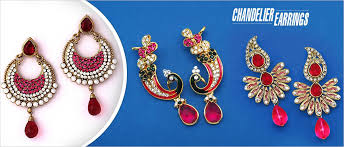 celebrate navratri festival with chandelier earrings that will make you go wow