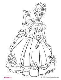 Coloriage Pour Fille Princesse